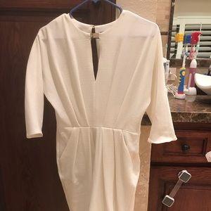 Open back white dress (NWOT)